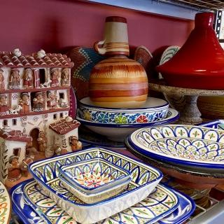 Casa Nova's Casuela and Sarape Service Ware Collection