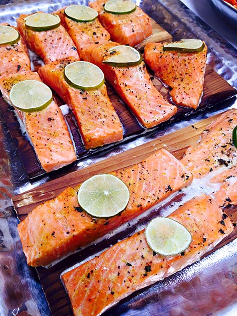 Thai Spice Salmon by Casa Nova Custom Catering, Santa Fe, New Mexico