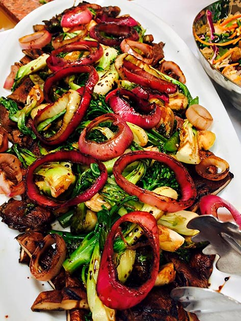 Grilled Thai Veggies by Casa Nova Custom Catering, Santa Fe, New Mexico