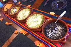Latin Thai tasting menu by Casa Nova Custom Catering, Santa Fe, New Mexico