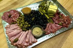 A charcuterie appetizer platter by Casa Nova Custom Catering, Santa Fe, New Mexico