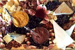 International cheese and appetizer platter by Casa Nova Custom Catering, Santa Fe, New Mexico