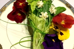 Brides/Grooms Bouquet Salad by Casa Nova Custom Catering, Santa Fe, New Mexico