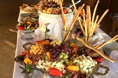 Wedding antipasto table by Casa Nova Custom Catering, Santa Fe, New Mexico