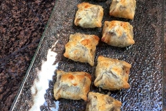 Mini Beef Wellington appetizers by Casa Nova Custom Catering, Santa Fe, New Mexico