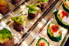 Fall Hors d'oeuvres by Casa Nova Custom Catering, Santa Fe, New Mexico