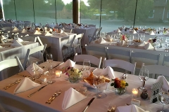 Las Golondrinas wedding scene with catering by Casa Nova Custom Catering, Santa Fe, NM