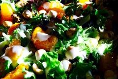 Hazelnut mandarin orange salad by Casa Nova Custom Catering, Santa Fe, NM