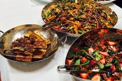 Thai Menu for a catered wedding by Casa Nova Custom Catering, Santa Fe, New Mexico