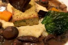 Vegetarian entree by Casa Nova Custom Catering, Santa Fe, New Mexico