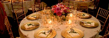 Magical catered evening dinners by Casa Nova Custom Catering